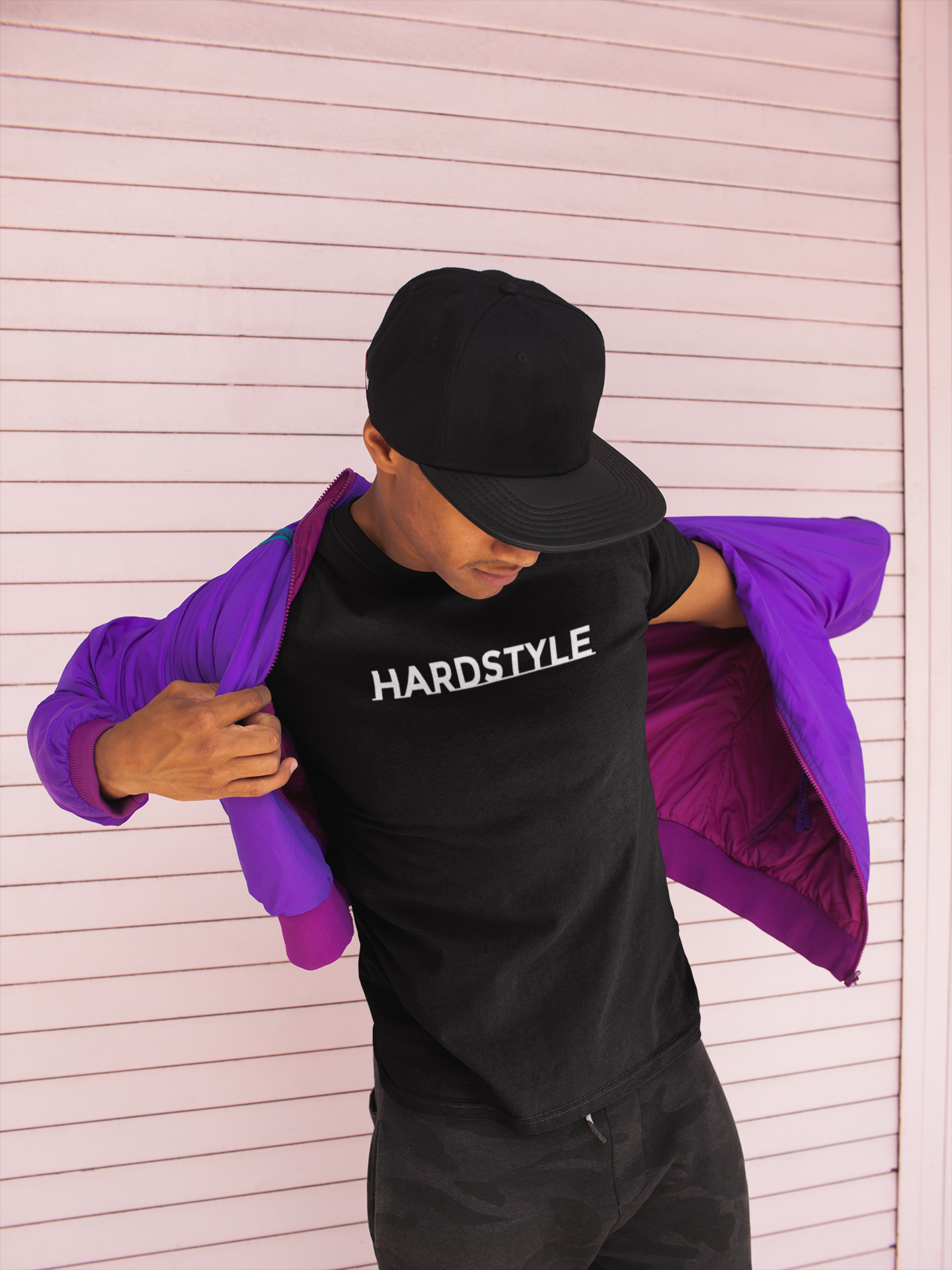 hardstyle t shirt man