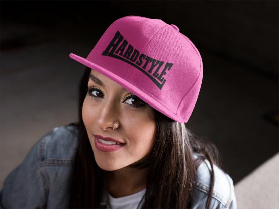 roze snapback hardstyle
