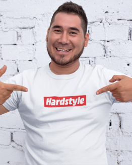 Hardstyle shirt red